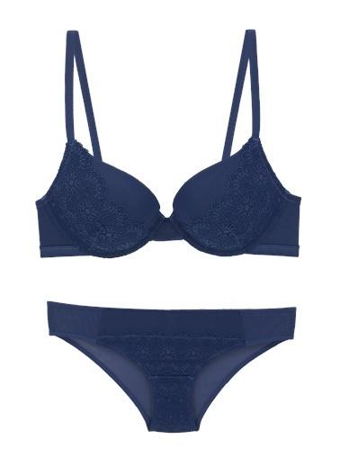 Pierre Cardin Çamaşır Takım Mavi